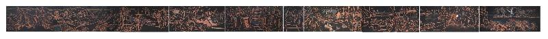 La Storia di Viareggio; - 28x1.50 metri - incollato su 10 pannelli di compensato.